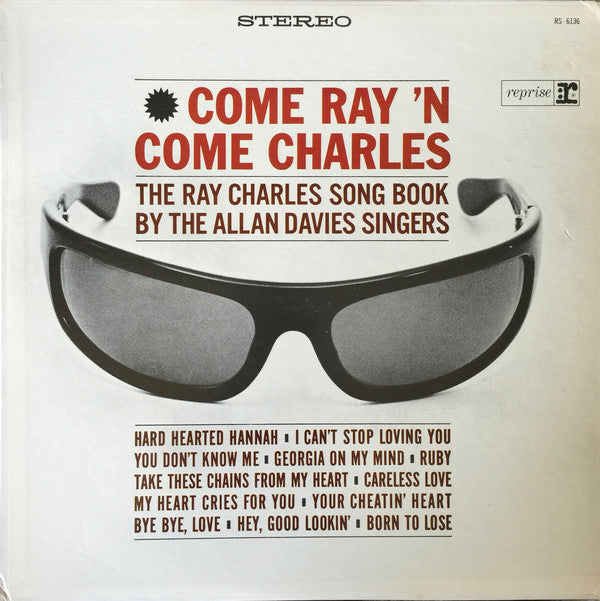 Allan Davies Singers, The - Come Ray 'N Come Charles - Pre-owned Vinyl - Covert Vinyl