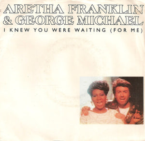 Aretha Franklin & George Michael - I Knew You Were Waiting (For Me) 45 RPM - Pre-owned Vinyl