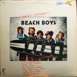 Beach Boys, The - Wow! Great Concert!- Pre-owned Vinyl - Covert Vinyl