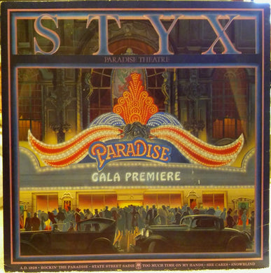 Styx - Paradise Theater - Pre-owned Vinyl