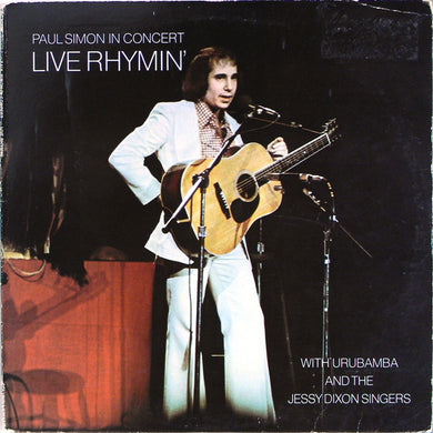 Paul Simon - Live Rhymin' - Pre-owned Vinyl