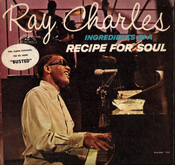 Ray Charles - Ingredients in a Recipe for Soul - Pre-owned Vinyl