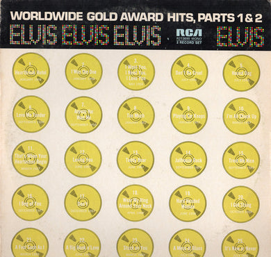 Elvis Presley - Worldwide Gold Award Hits, Parts 1 & 2 - Pre-owned Vinyl