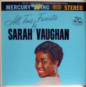 Sarah Vaughan - All Time Favorites By - Pre-owned Vinyl