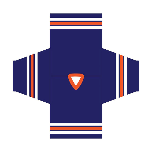 Edmonton Oilers Sublimated Hockey Jersey