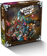 Vikings Gone Wild the board game with 4 expansions