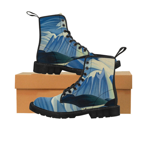 HARRIS'S ''LAKE AND MOUNTAIN'' Women's Boots - artforshoes