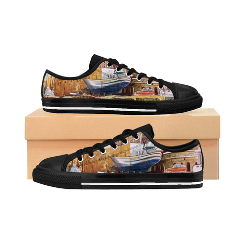 ''OLD JAFFA'' Women's Sneakers - artforshoes