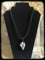 Reiki Infused Rose Quartz Necklace - Focused Nation Brand