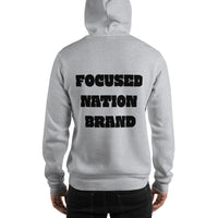 Hooded Vibrational Boss Sweatshirt - Focused Nation Brand