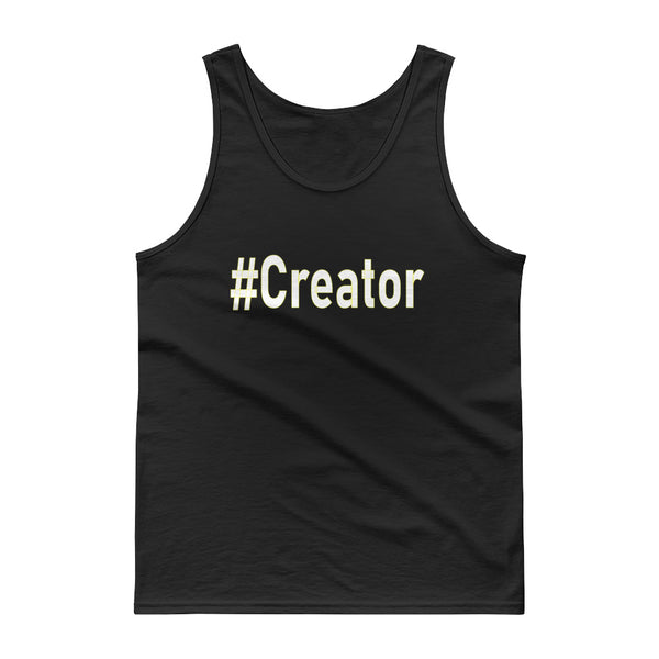 Tank top #Creator - Focused Nation Brand