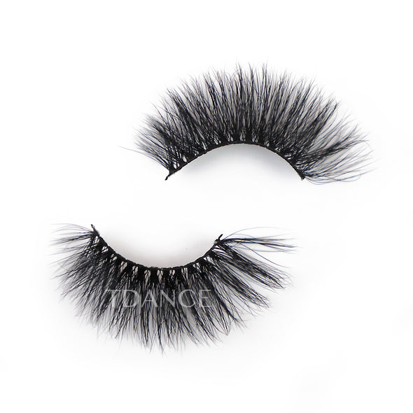 25MM 3D Mink Lashes LXPLUS24(Paper Box Without Logo)