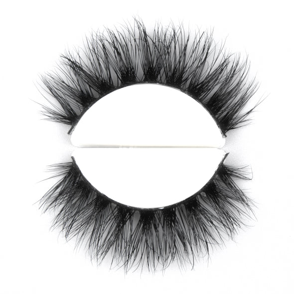 HANDMADE 3D MINK FALSE LASHES A14 (3934993678424)