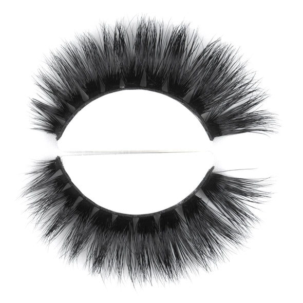 HANDMADE 3D MINK FALSE LASHES D106 (3936716652632)