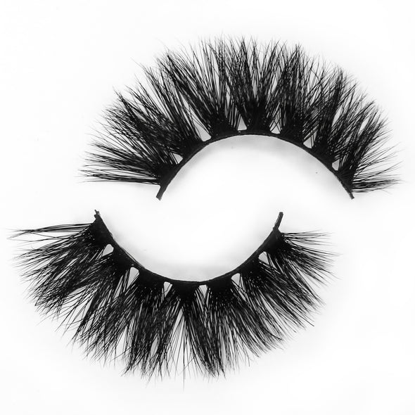 HANDMADE 3D MINK FALSE LASHES E4 (3936744767576)