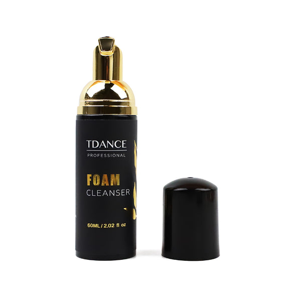 TDANCE GOLD EYELASH EXTENSION CLEANSER FOAM 60ML