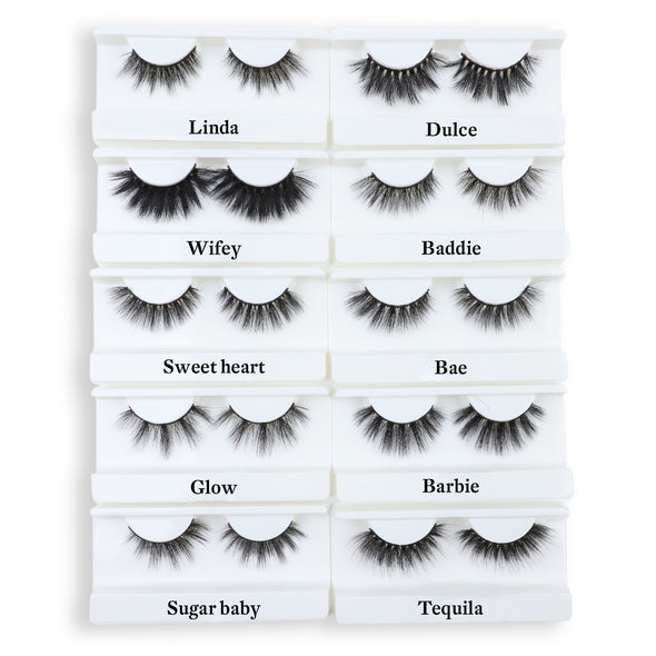 3D Faux Mink Lashes Wholesale(100Pairs/Pack)