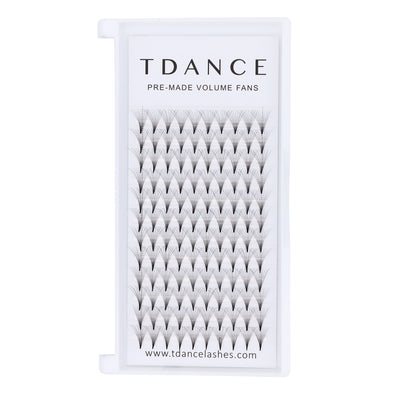 12 Rows 10D PRE-MADE VOLUME FANS LASHES (middle stem)