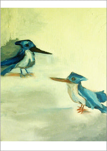 Kingfishers card