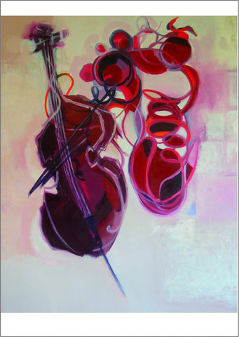 Cello in Red