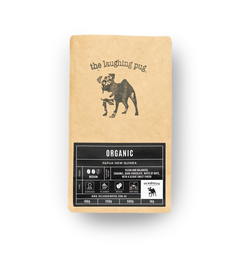 The Laughing Pug Ground Coffee