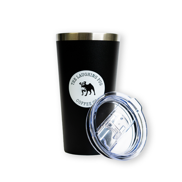 The Pug Coffee Tumbler (16oz/475ml)