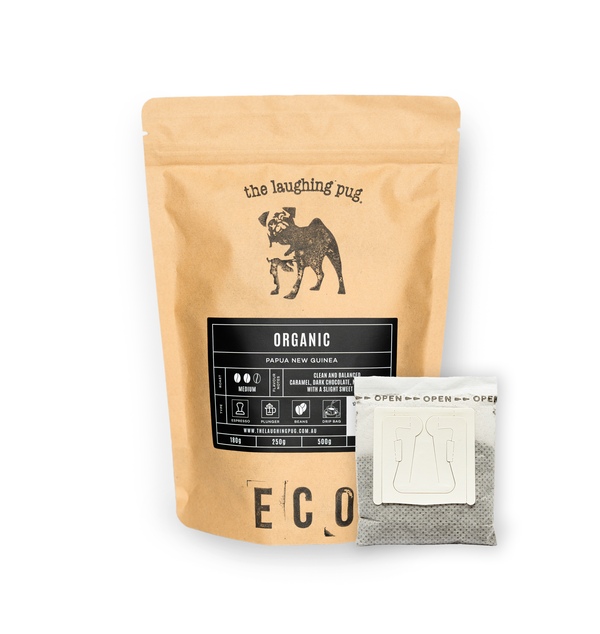 Pour Over Drip Coffee Bags: Resealable Eco Packet minus the foils