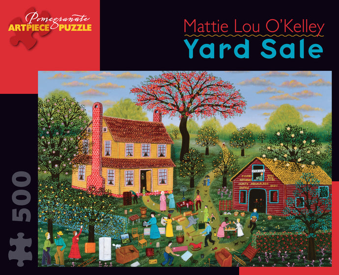 Mattie Lou O'Kelley: Yard Sale 500-Piece Jigsaw Puzzle