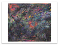 Julie Mehretu <i>Sun Ship (J.C.)</i> Postcard