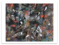 Julie Mehretu <i>Haka (and Riot)</i> Postcard