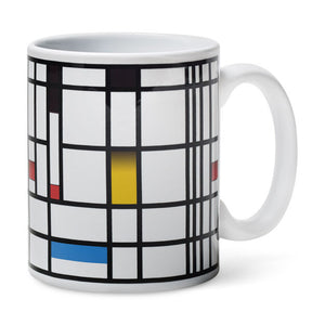 MONDRIAN COLOR - CHANGING MUG