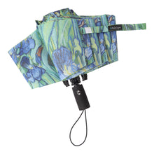 Load image into Gallery viewer, Vincent van Gogh Irises Folding Travel Umbrella
