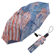 Hassam Avenue in the Rain Folding Travel Umbrella