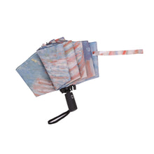 Load image into Gallery viewer, Hassam Avenue in the Rain Folding Travel Umbrella