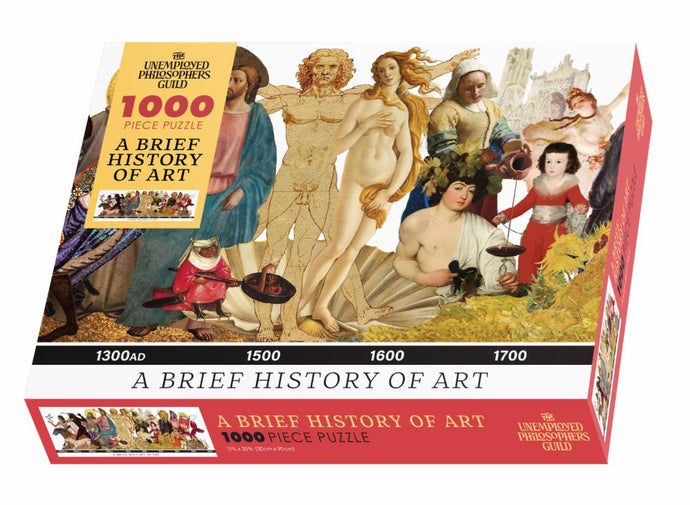 Brief History of Art - 1,000 Piece Jigsaw Puzzle