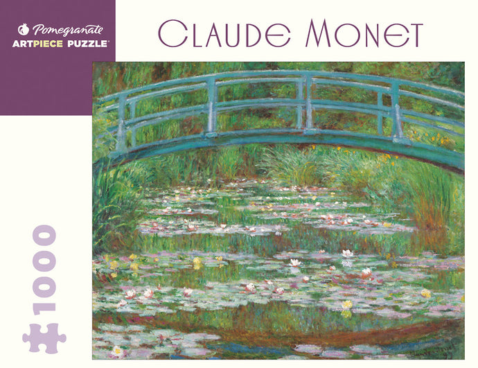 Claude Monet: The Japanese Footbridge 1,000-Piece Jigsaw Puzzle