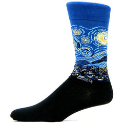<i>Starry Night</i> Men's Socks