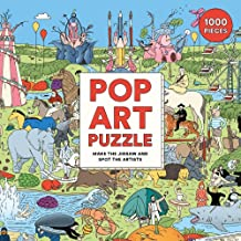 Pop Art 1000-Piece Jigsaw Puzzle