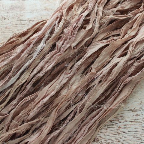 Rose Gold Silk Ribbon