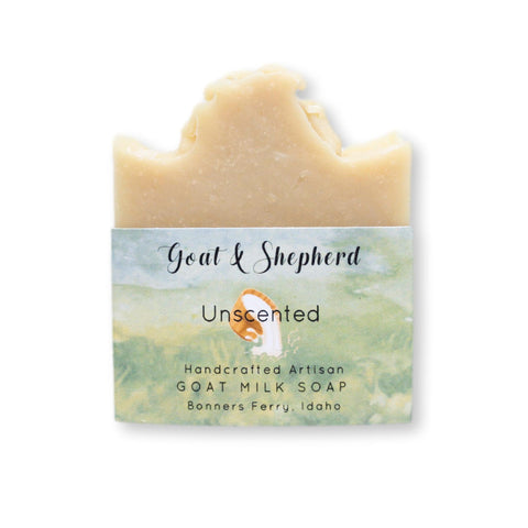Unscented ~ Goat Milk Soap