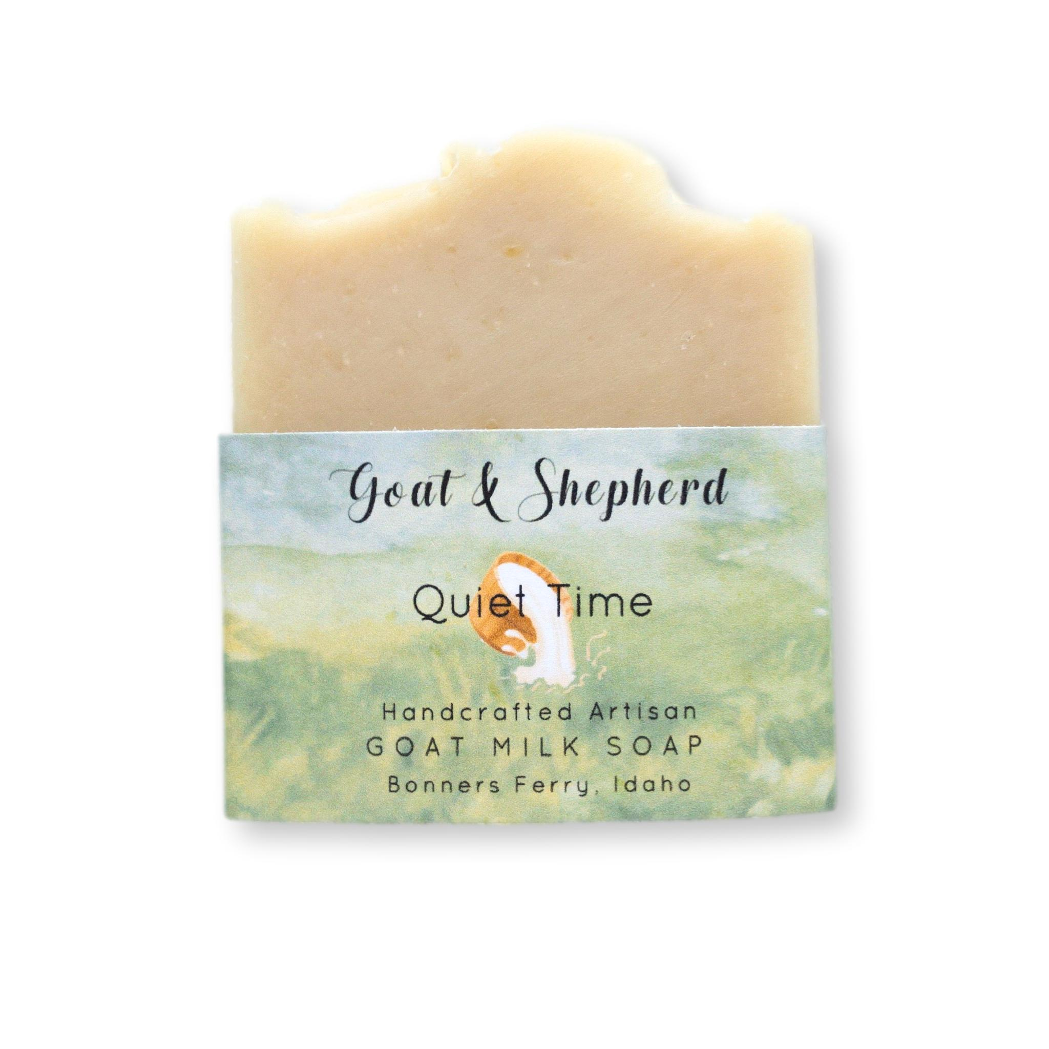 Quite Time ~ Goat Milk Soap