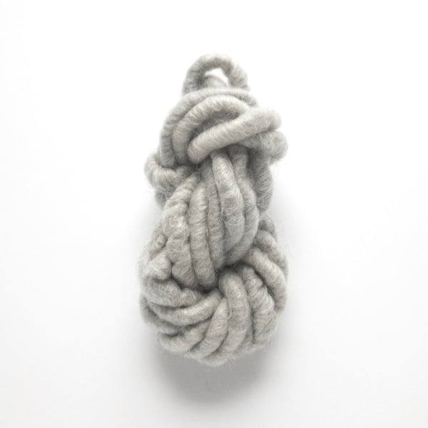 Light Gray Corespun Yarn - by the yard