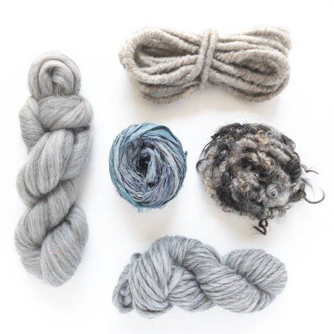 Natural Gray Fiber Pack