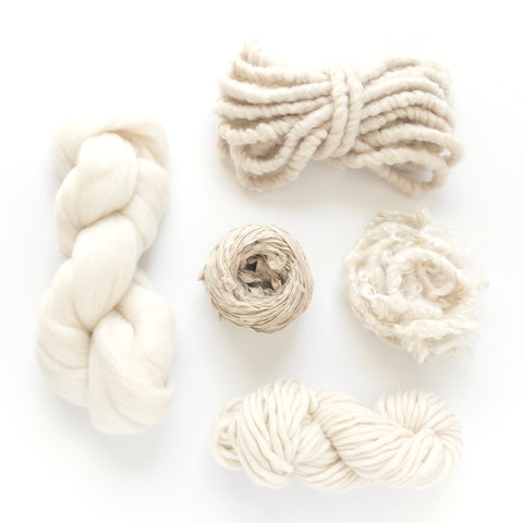 Natural White Fiber Pack