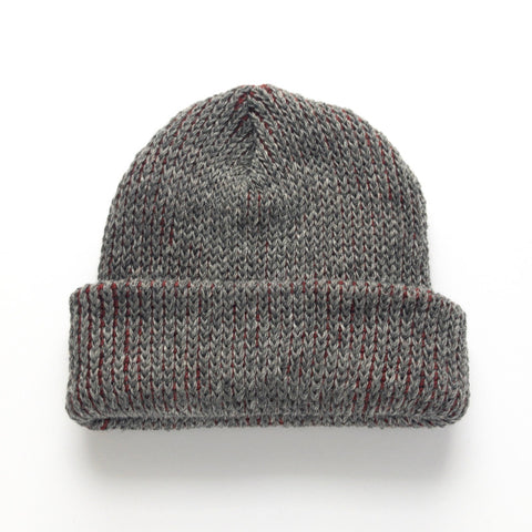Mohair & Wool Watch Hat - Pomegranate Red