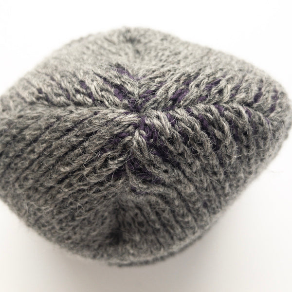 Mohair & Wool Watch Hat - Plum Purple