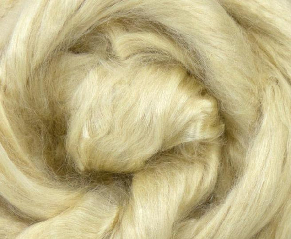 Tussah Silk Top Natural Undyed