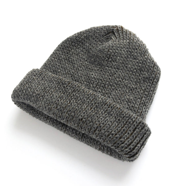 Mohair & Wool Watch Hat - Wood Moss Green