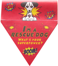 Load image into Gallery viewer, I'm a rescue dog! What's your superpower?