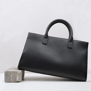Fire Zip Satchel in Cactus Leather